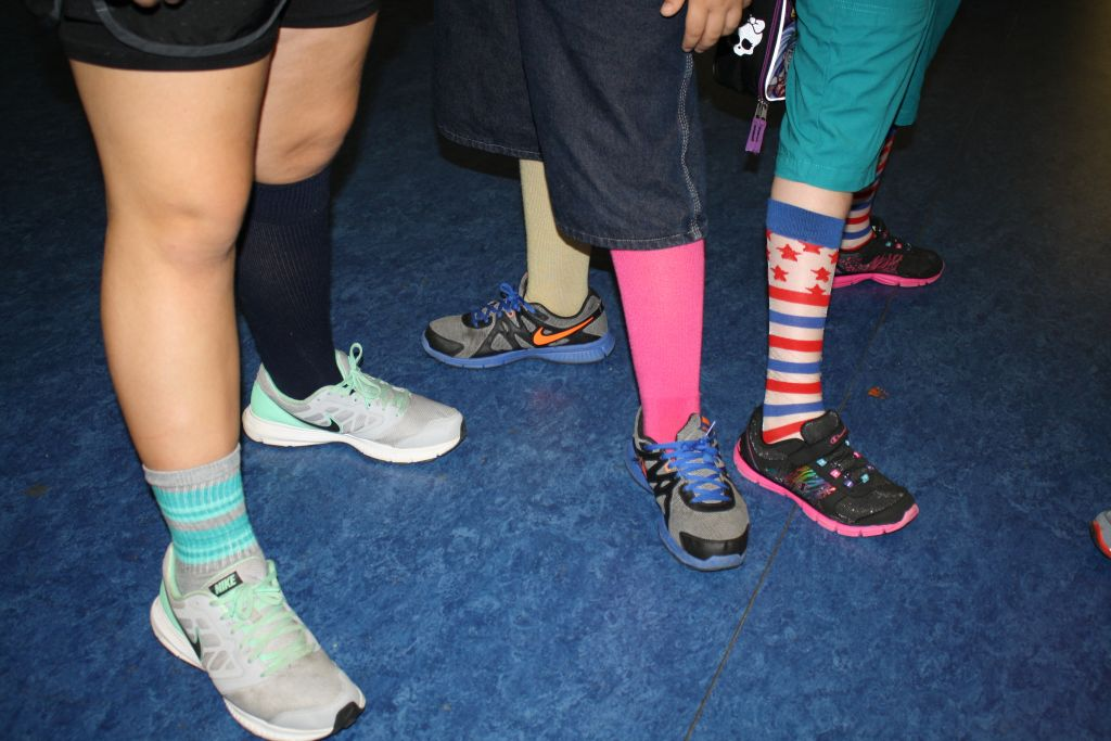 2015 September Crazy Sock Day