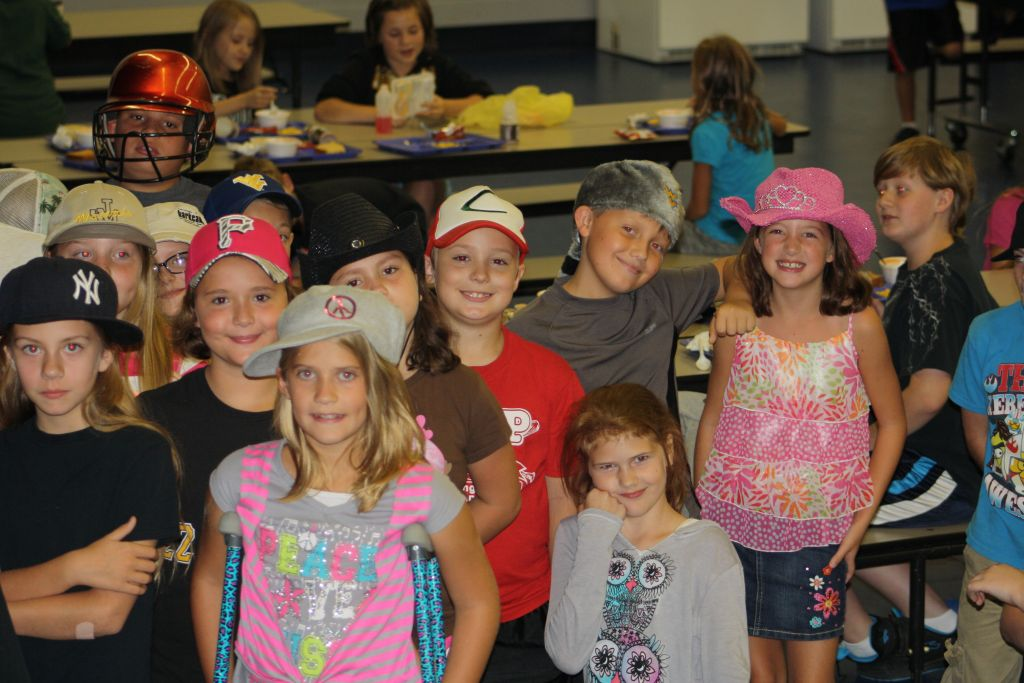2015 September Crazy Hat Day